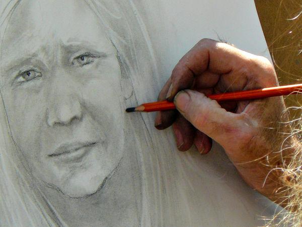 Hand of an Artist...