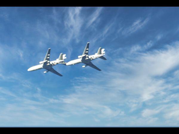 Plane refueling...