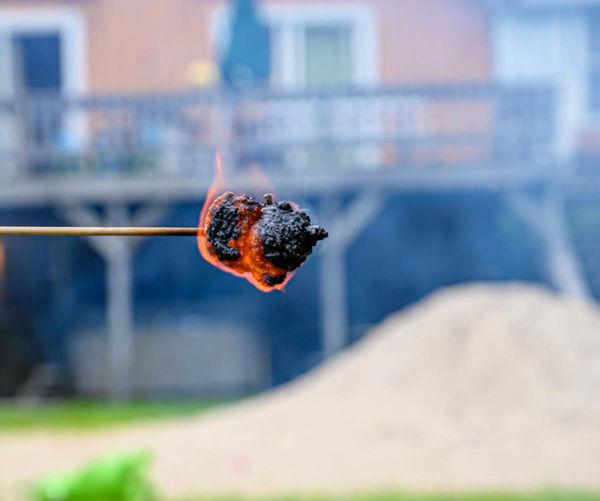 Gotta have a flaming burnt, crispy marshmallow...