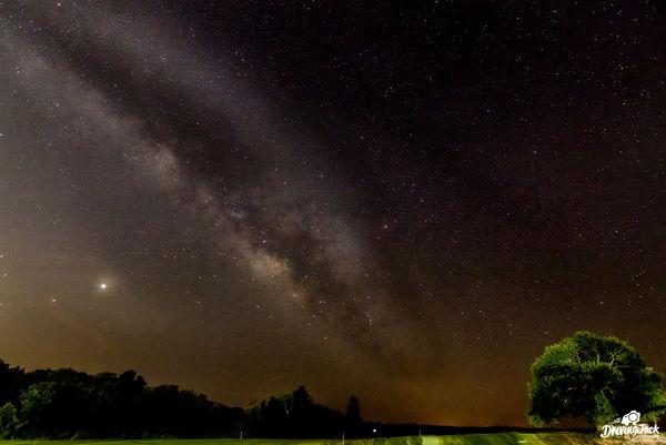 Milky Way in Opelika, Alabama...