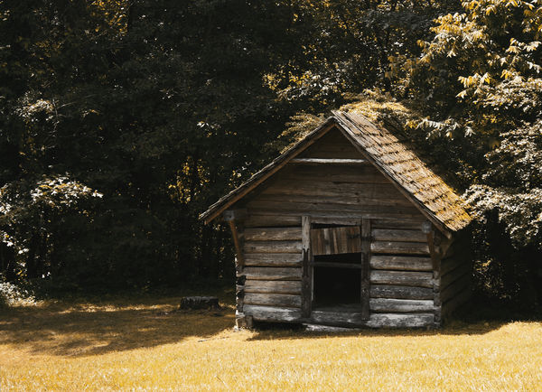 Old Coal Shed...
