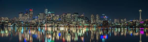 City Lights At Gasworks Park...