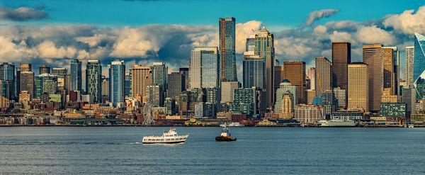 Seattle From Alki...