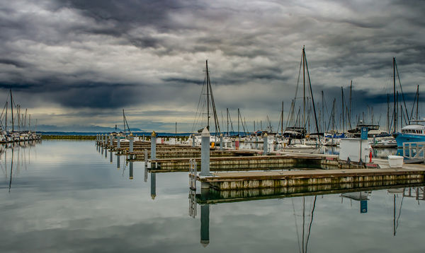 Calm Morning At The Marina...