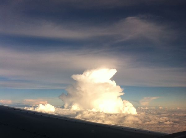 My leftover… one more from 30,000 ft. altitude....
