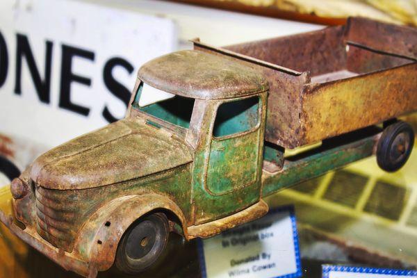Rusty Toy Truck...
