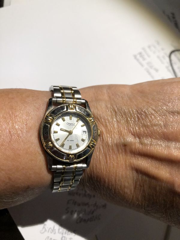 "My ""25 years of Service"" watch..."