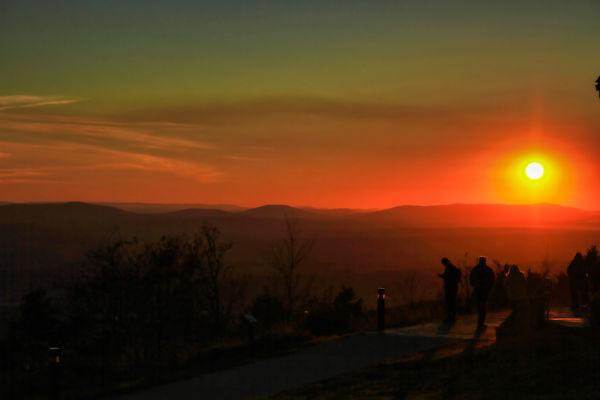 Another Sunset over Mt. Magazine...