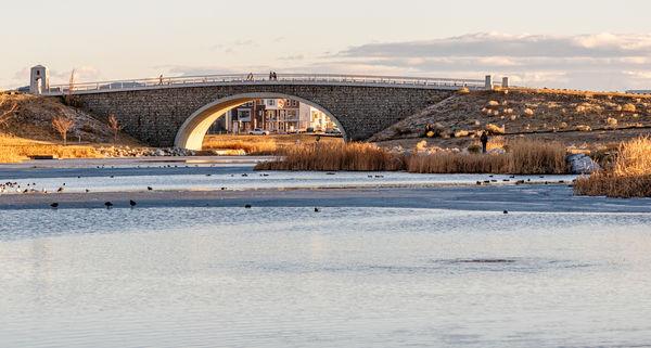 Bridge to the island...