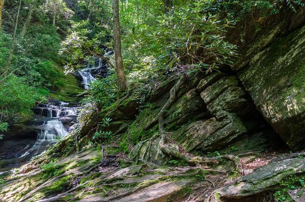 Roaring Fork Falls...
