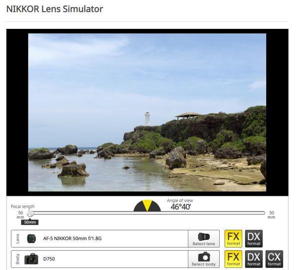 FX 50mm lens on FX body...