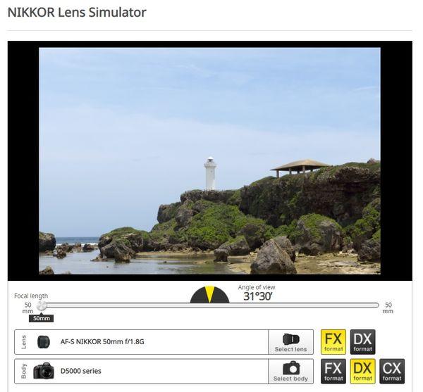 FX 50mm lens on DX body...
