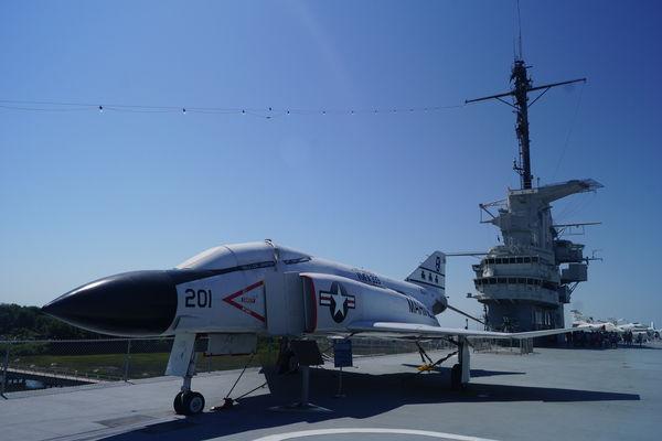 Good to see the Phantom on deck....