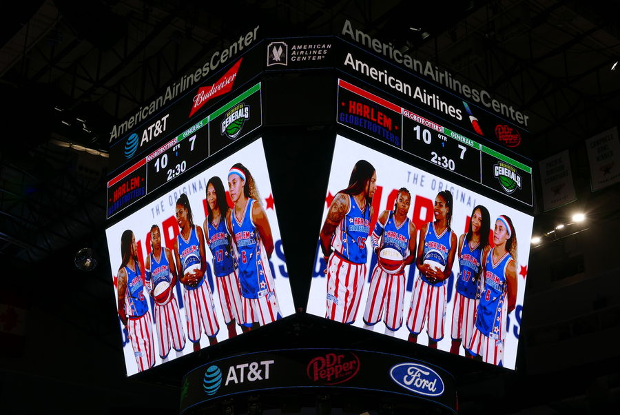The Ladies now also play for the Globetrotters...