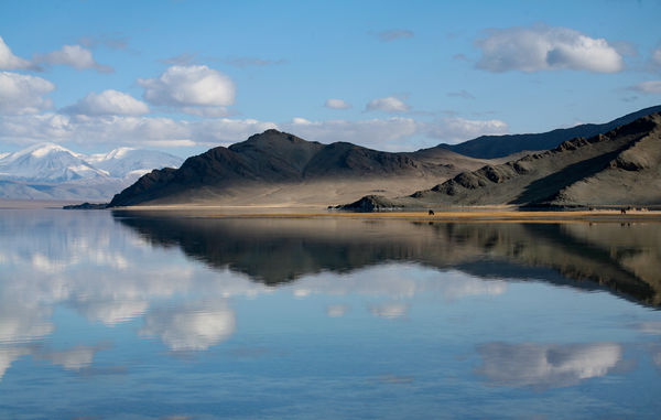 Lake in western Mongolia...