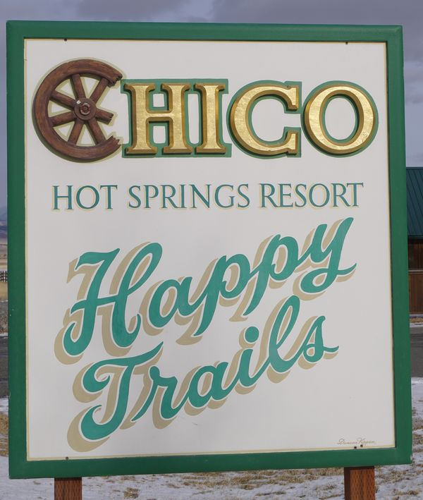We were booked into the Chico Hot Springs resort t...