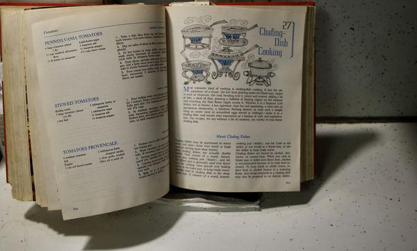 My fav. cook book always ready!...