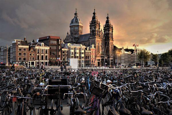 (4)  Brownish ......Amsterdam....