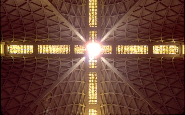 Cathedral in San Francisco...