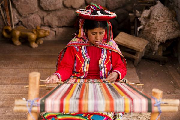 Peruvian Weaver...