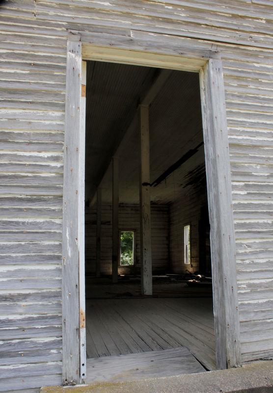 Abandoned Doorway...