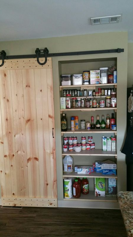 and the door I made for the Cooks Pantry, here at ...