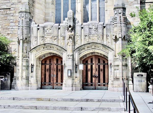 Yale chapel...