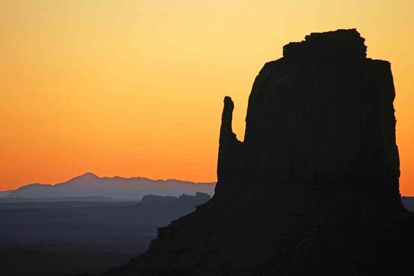 Monument Valley, Arizona Before Sunrise...