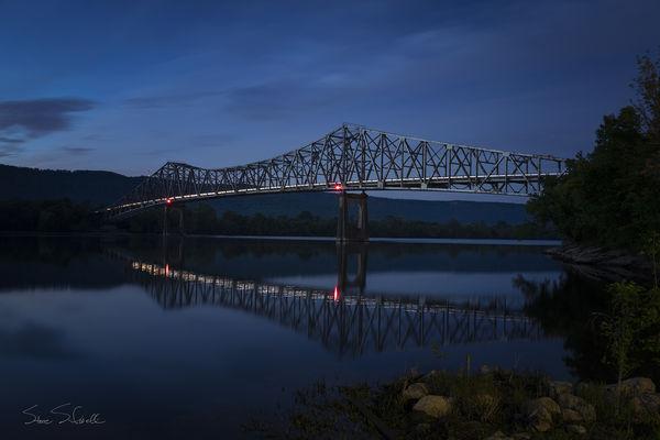 John Snodgrass cantilever bridge...