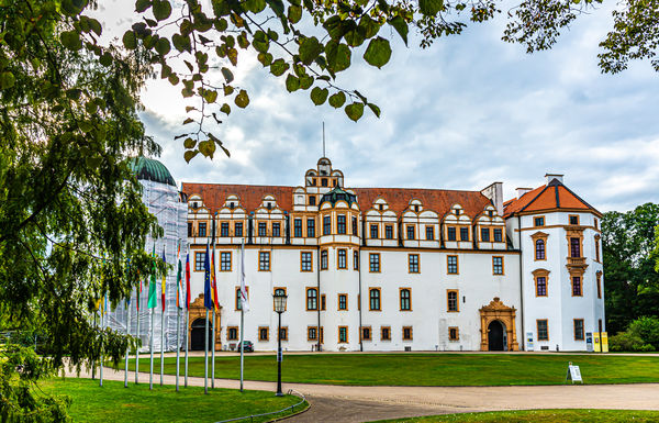 7 - Celle Castle's eastern facade, dating back to ...