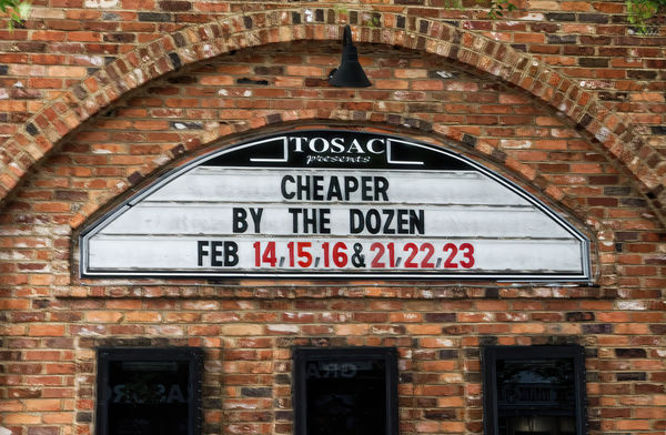 Local Theater - The marquee is from over a year ag...