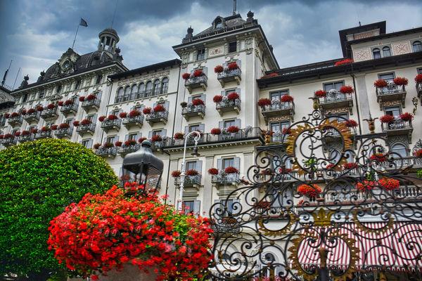 Grand Hotel des Iles Borromees built in 1861...