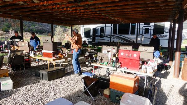 5.  The reloading barn...