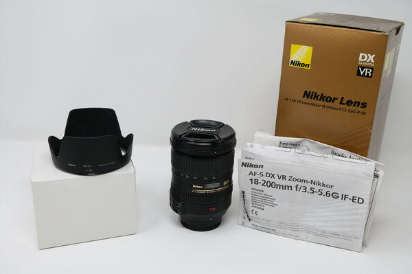 18-200mm Lens Boxed...