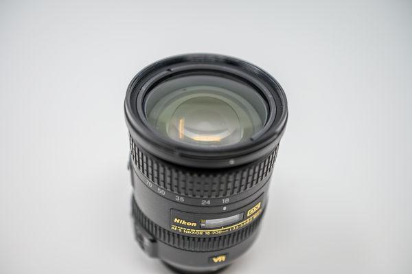 18-200mm Lens Front - NO BOX...