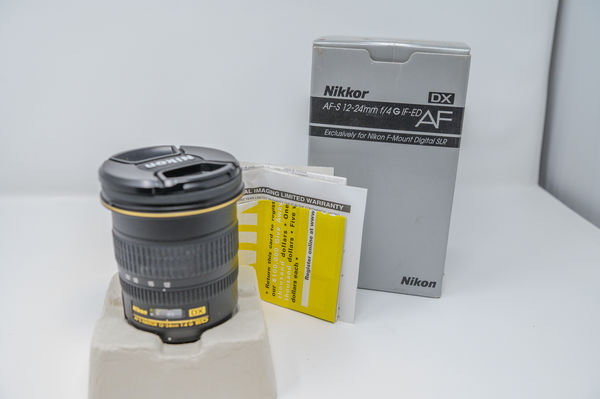 12-24mm f4 DX lens - Boxed...