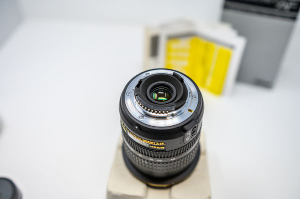 12-24mm f4 DX lens Rear - Boxed...