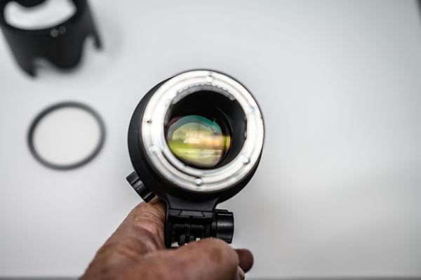 Nikon 70-200mm F2.8 VR LENS Rear View - NO BOX...