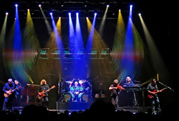 Rock band Kansas in concert in October of 2018 in ...