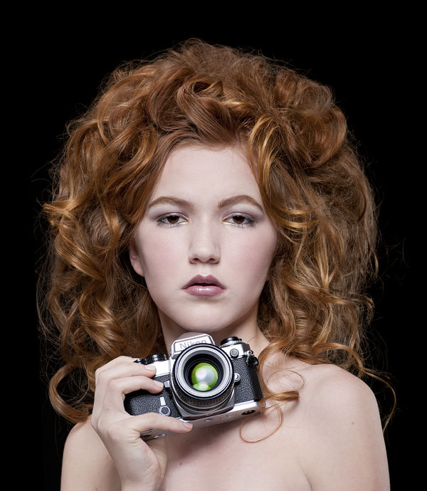 FE Nikon with an AI f/1.8 Nikkor......