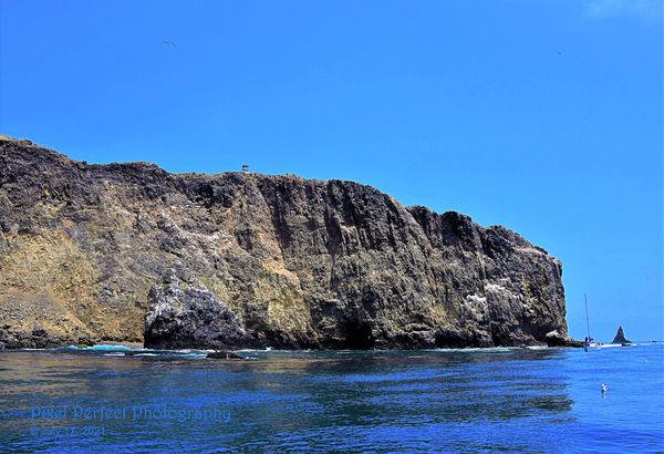 Anacapa Island - Southeast corner...