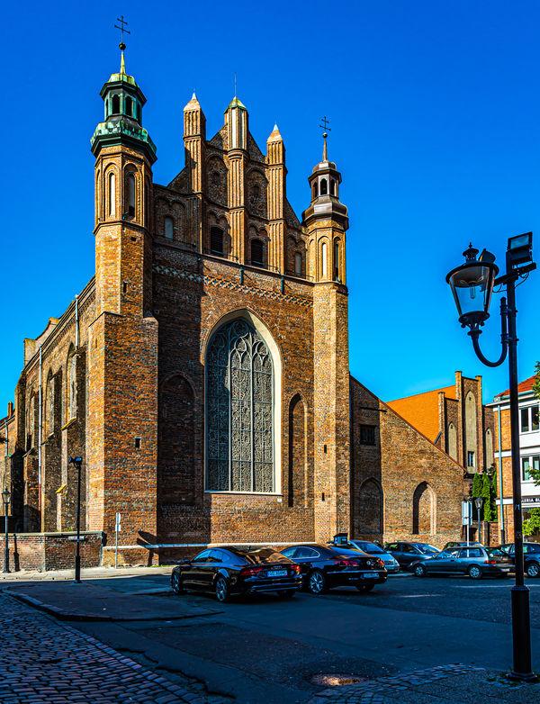 1 - St Joseph's church, rear facade seen from the ...