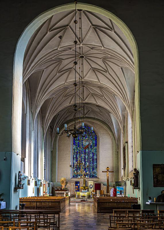 3 - St Joseph's church: forward part of the church...