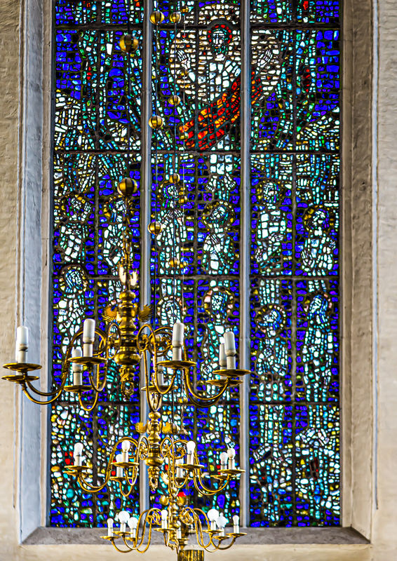 4 - Stained glass window...