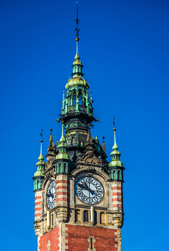 8 - Detail of top of the main tower...