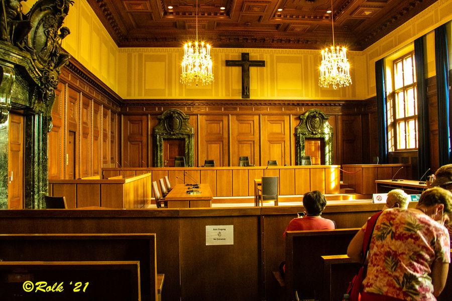 Inside Courtroom 600....
