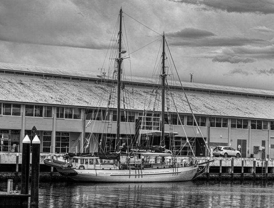 Captured in Hobart (Tasmania), docks, March 2020....