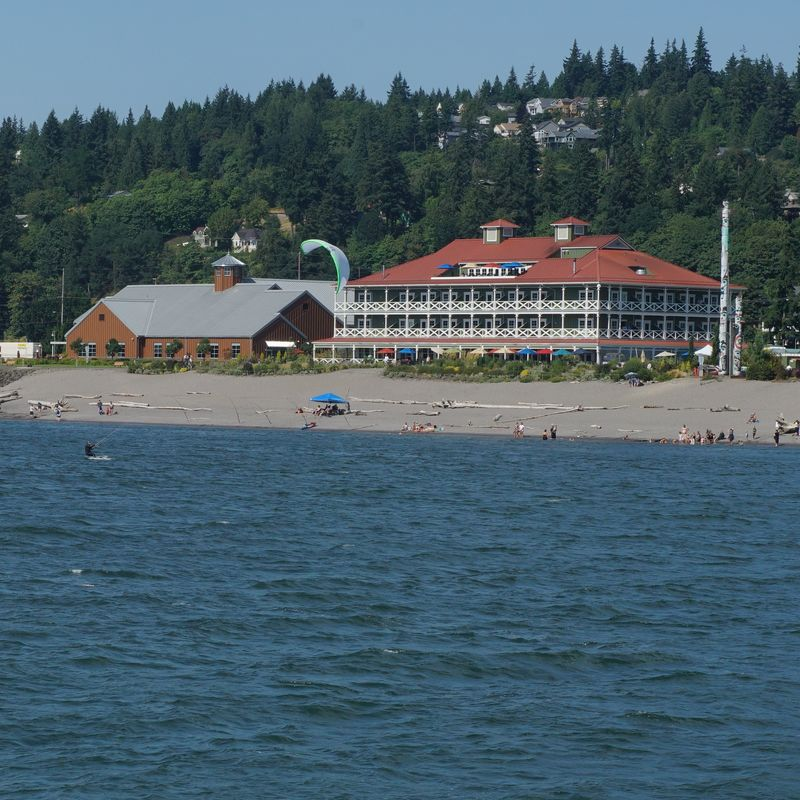 Some nice beach and resort property along the way ...