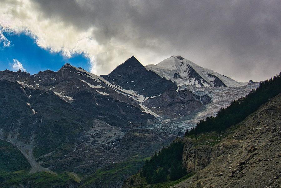 A final glimpse of the Rhone Glacier...