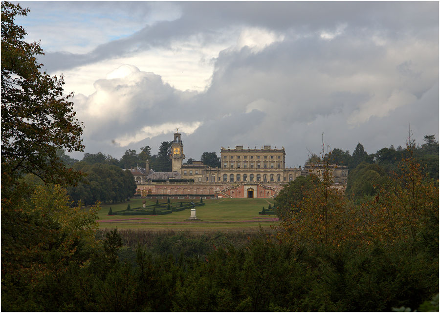 Cliveden House from a distance....